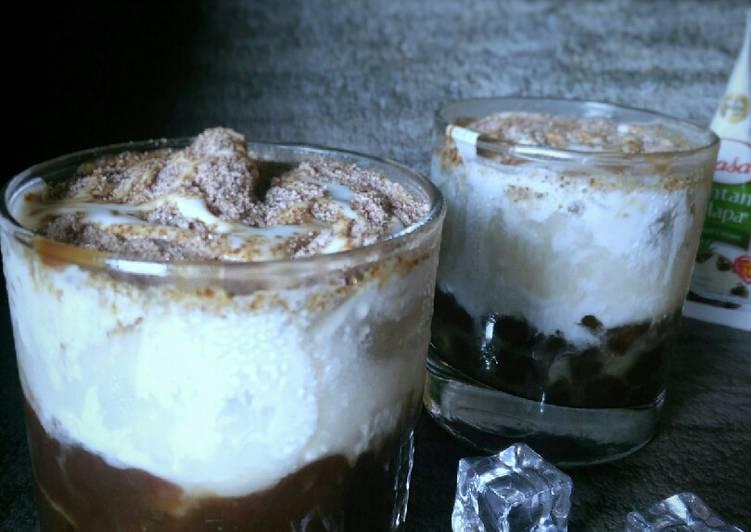 Es bubble kopi santan