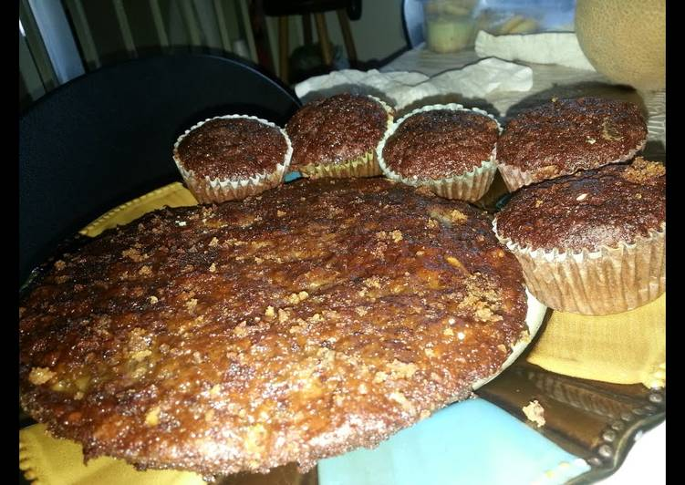 Easy to Prepare Appetizing Banana Nut Bread (Muffins)