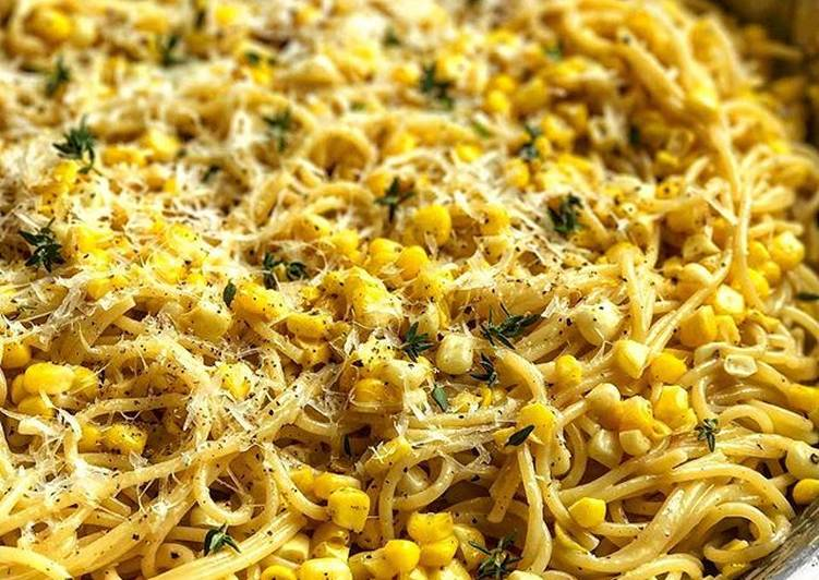 Recipe: Yummy [Vegan] Corn Cacio e Pepe