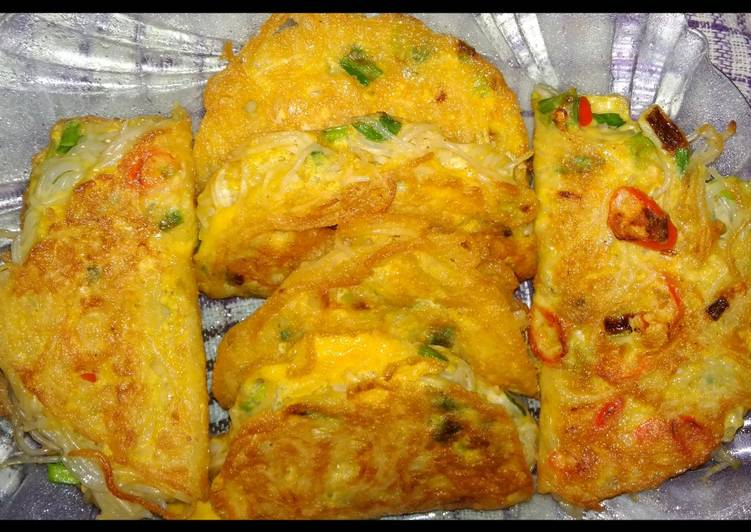 Resep 35. Omelette Bihun Simple Praktis Bikin Laper