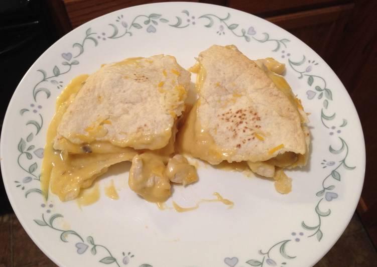 Recipe of Super Quick Homemade Chicken Tortilla Casserole