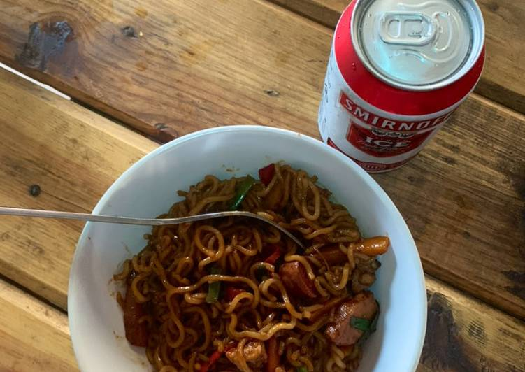 5 Minute Steps to Prepare Award Winning Stirfry Sweet & Spicy Noodles