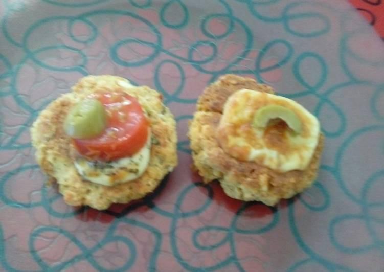 Falafel quesosos al horno!!!