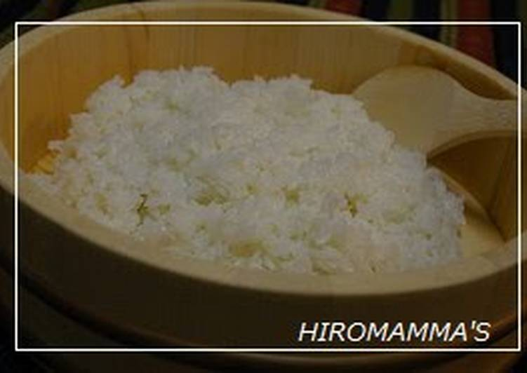 My Sushi Rice Recipe
