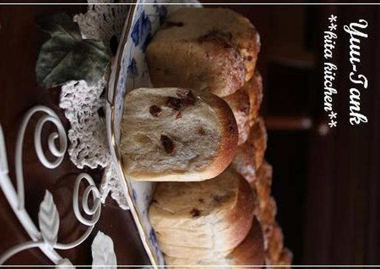 Recipe of Super Quick Homemade Cinnamon Sugar & Butter Rum Raisin Bread