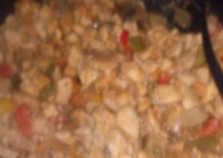 Recipe: Yummy Chicken Taco Meat