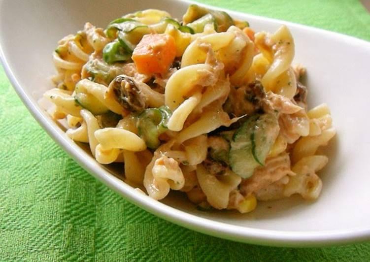 Macaroni Salad with Aurora Sauce