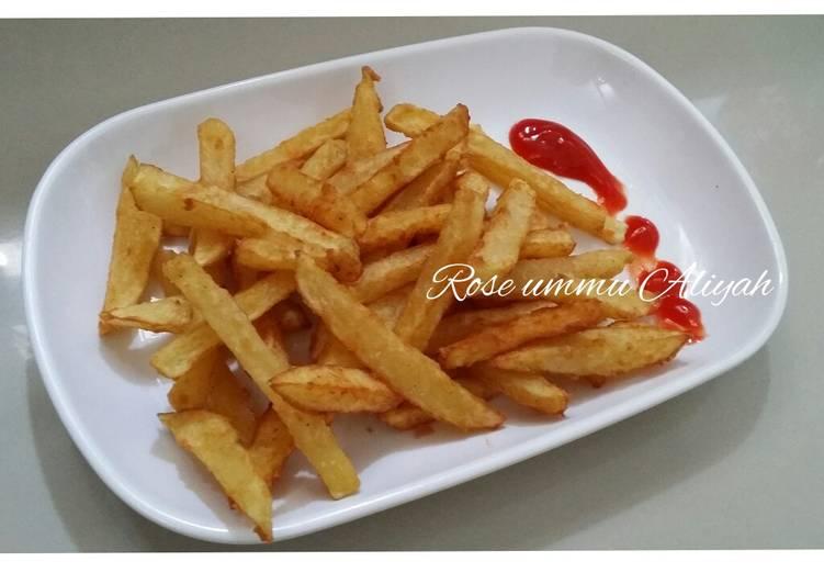 French fries (Kentang Goreng)