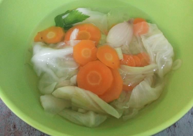 Resep Sayur Sop Sehat Tanpa Minyak Sangat Nikmat