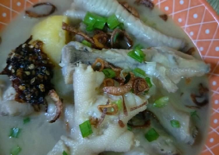 Sup Kaki Ayam Berempah - velavinkabakery.com