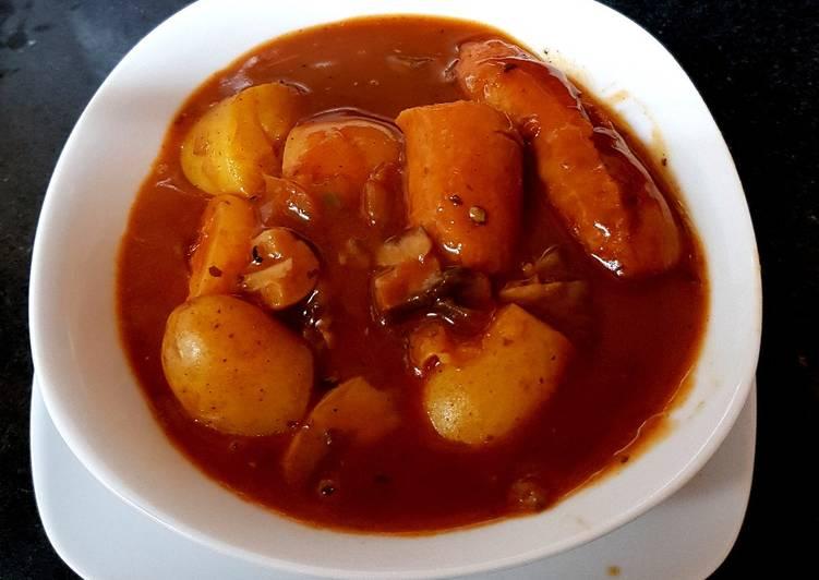 My Sausage Mushroom & New potatoes Casserole 💙💙
