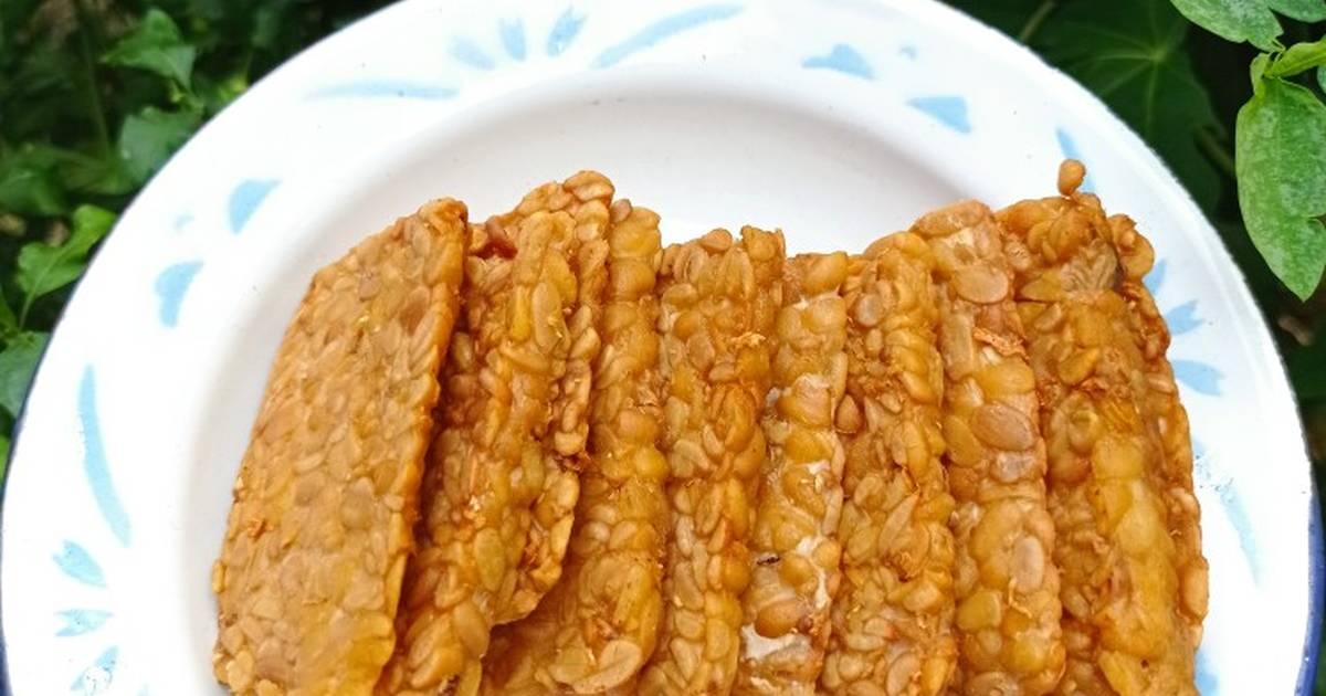 Resep Tempe goreng sederhana oleh Rizki Septia - Cookpad