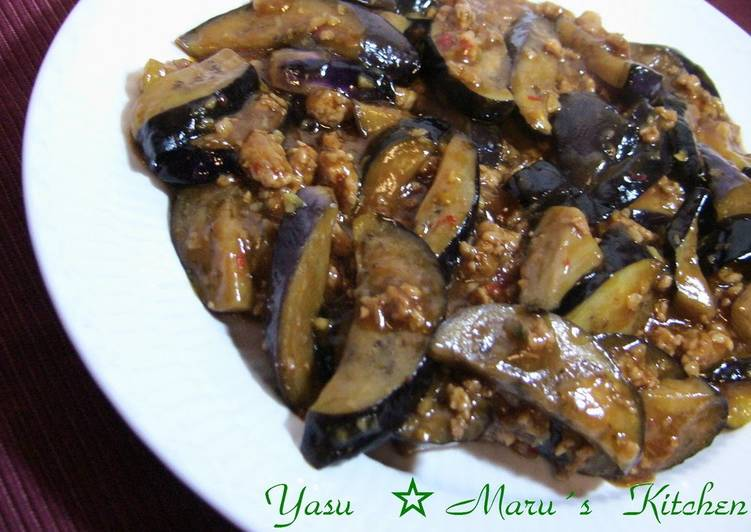 Step-by-Step Guide to Make Top-Rated My family's Mapo Eggplant