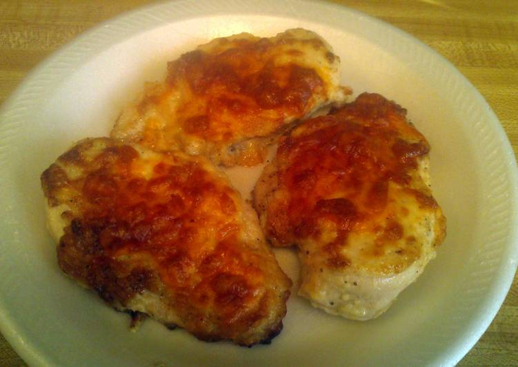 Easiest Way to Prepare Any-night-of-the-week Mayo & Parmesan Encrusted Chicken