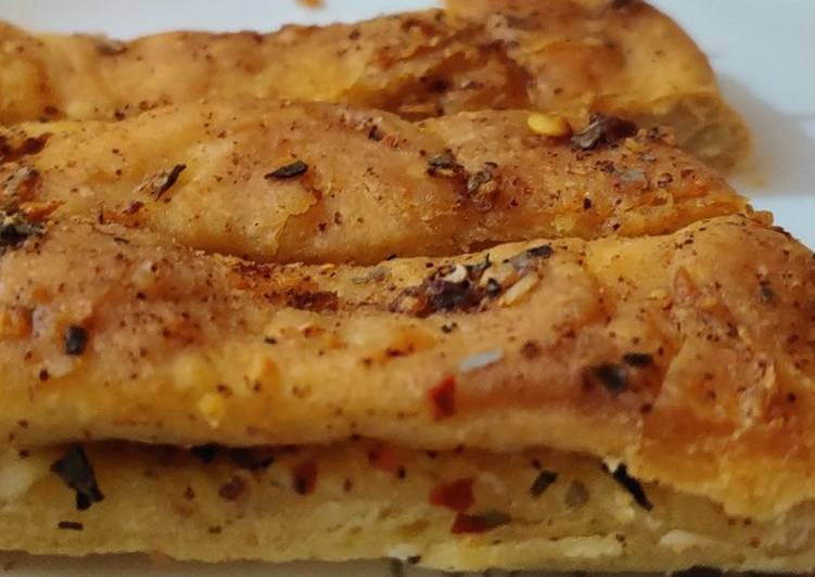 Easiest Way to Make Appetizing Garlic bread dominos style juls kaur kitchen