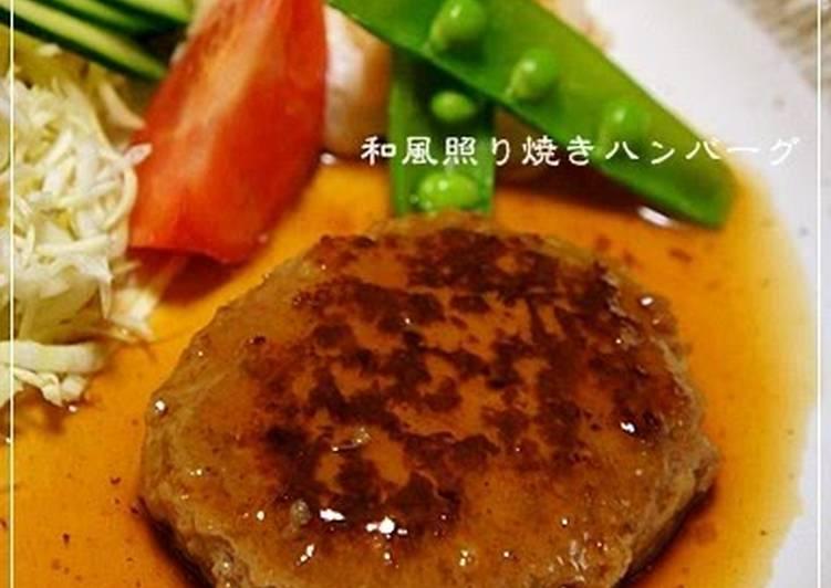 Recipe: Tasty Mild Teriyaki Hamburger Steak