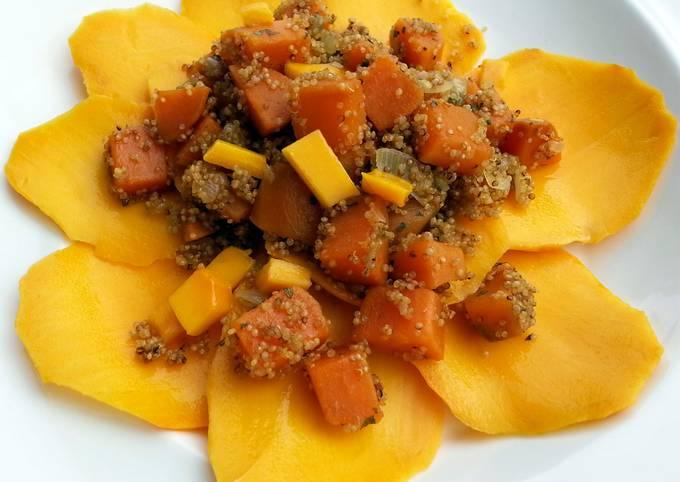 Sweet Potato Quinoa Vegan Salad