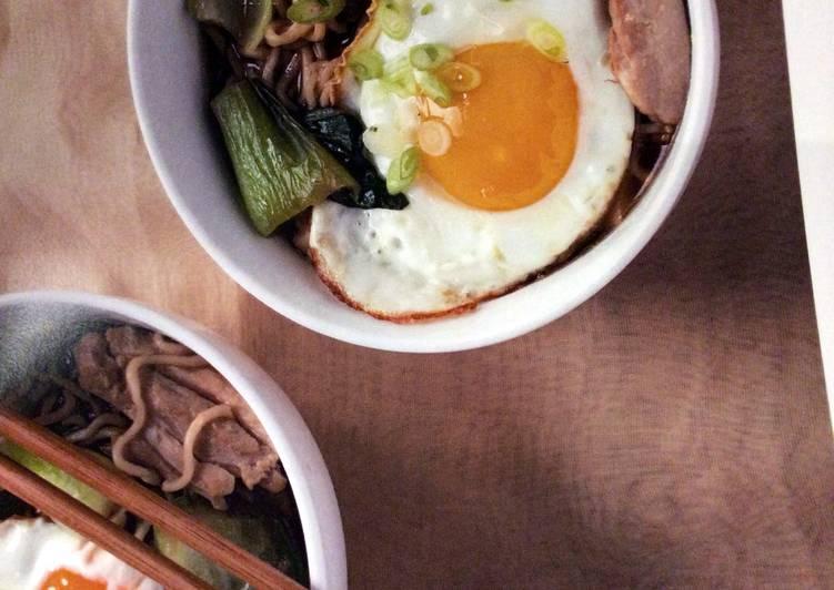 Homemade Chicken and Vegetable Ramen