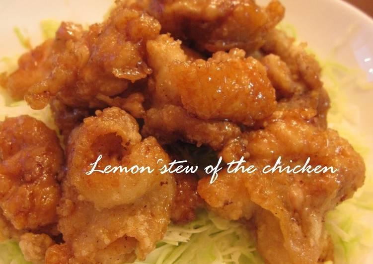 Recipe of Award-winning A School Lunch Flavor- Chicken Simmered with Lemon, Karaage Version