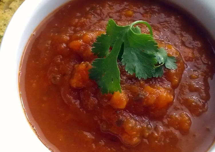 Easiest Way to Make Ultimate Vickys Spiced Aubergine Soup, GF DF EF SF NF