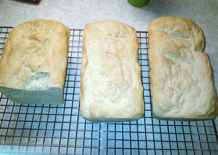 Oven baked White bread