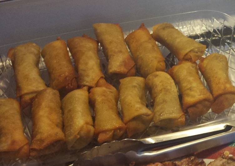 30 Minute Simple Way to Prepare Summer Egg rolls