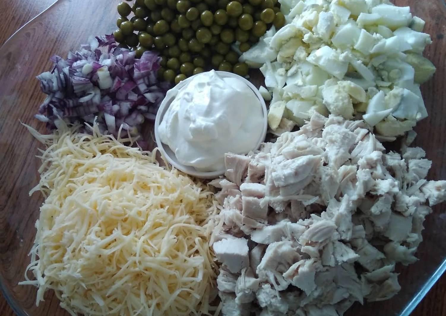 салат горками рецепт с фото пошагово готовы тому