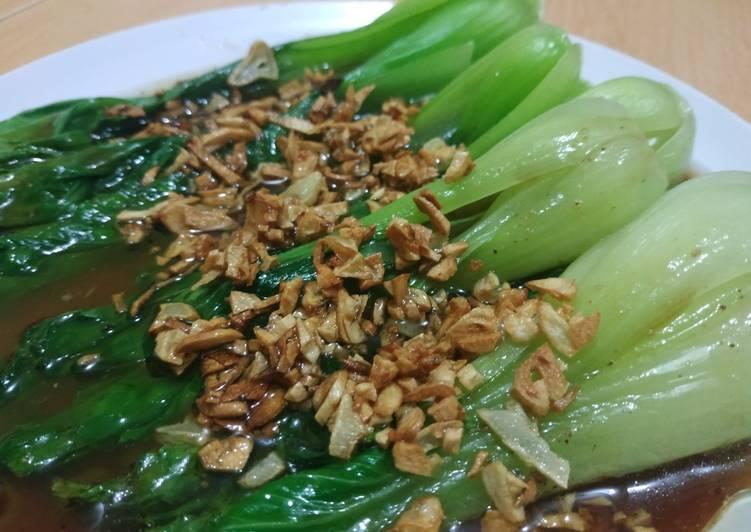 Resep Tumis Pak Choi Chinese Food Rumahan Oleh Iyas Utomo Cookpad