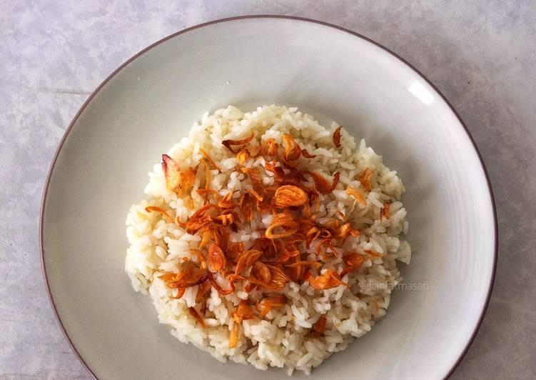 Nasi Uduk Ricecooker #TanpaSantan