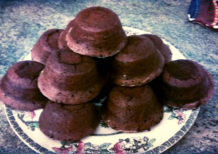 Hot Choc Fondant Puddings