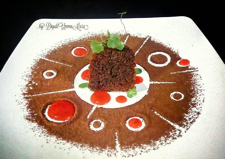 Bolu Karamel aka Cake Sarang Semut 6 telur