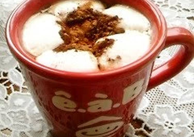 Recipe of Ultimate Fluffy Marshmallow Cocoa Just Heat in the Microwave!