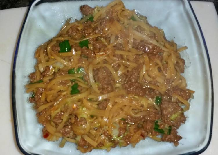 Korean Style Stir-fried Noodles