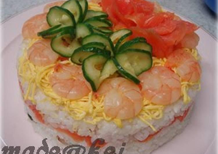 *Doll Festival Dinner* Sushi Cake