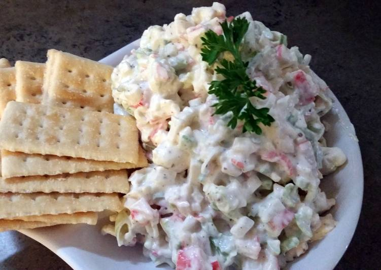 Cold Crab Salad
