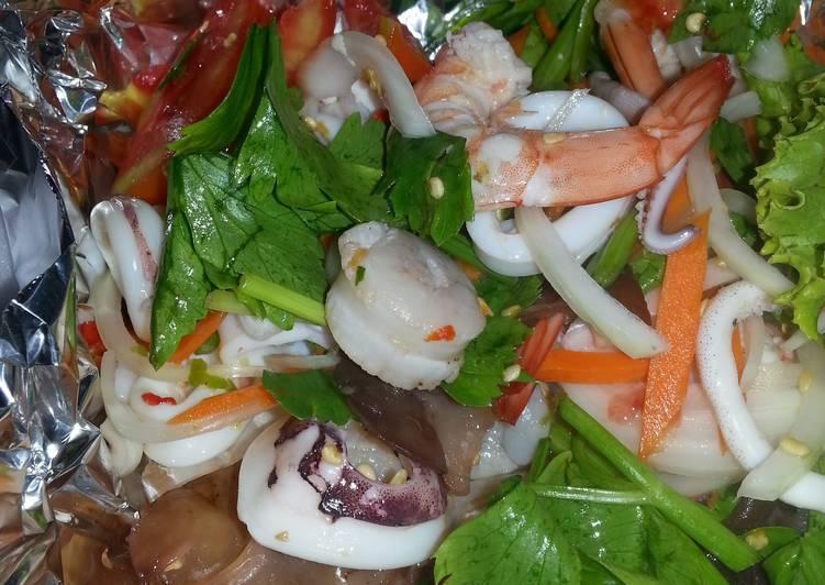 Easiest Way to Prepare Delicious Thai Seafood Salad