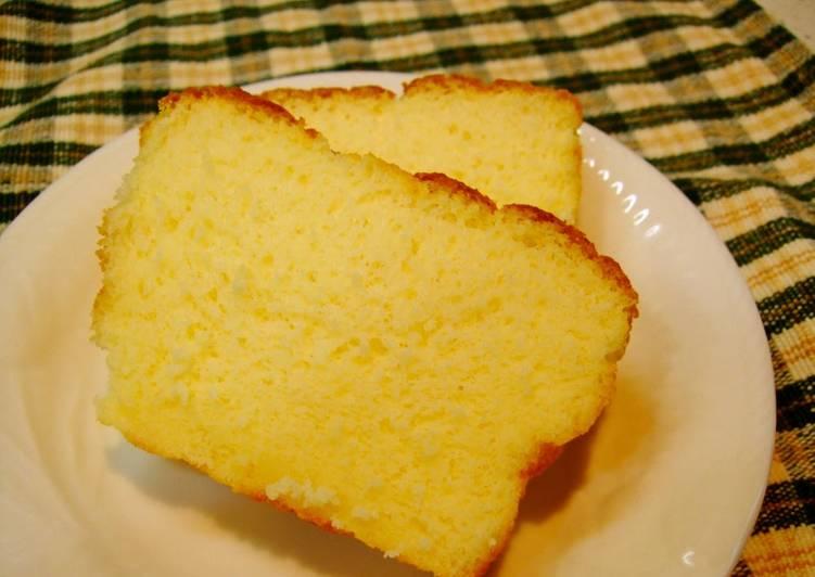 Oil-Free Pound Cake with Whey