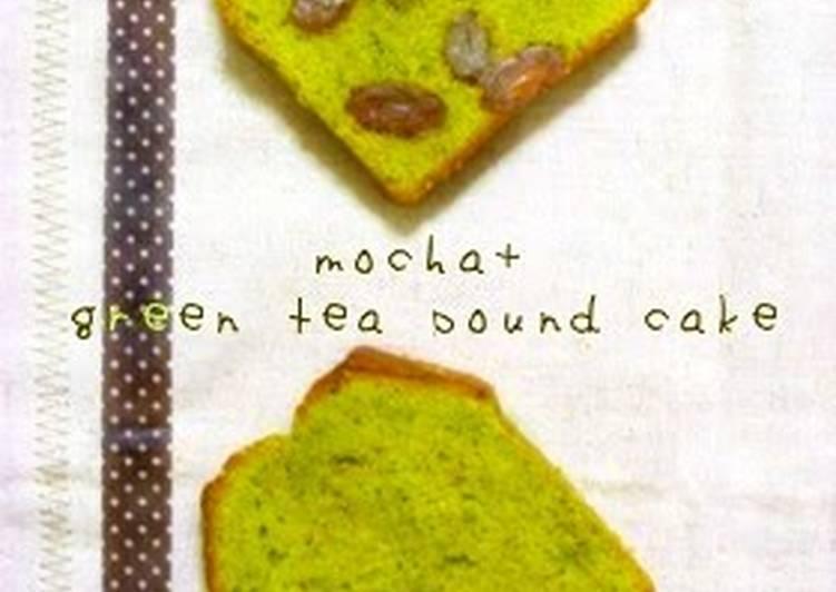 Easiest Way to Make Ultimate Matcha Pound Cake