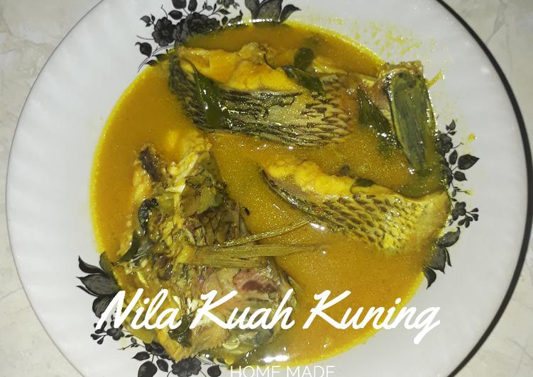 Resep Nila Kuah Kuning, Enak Banget