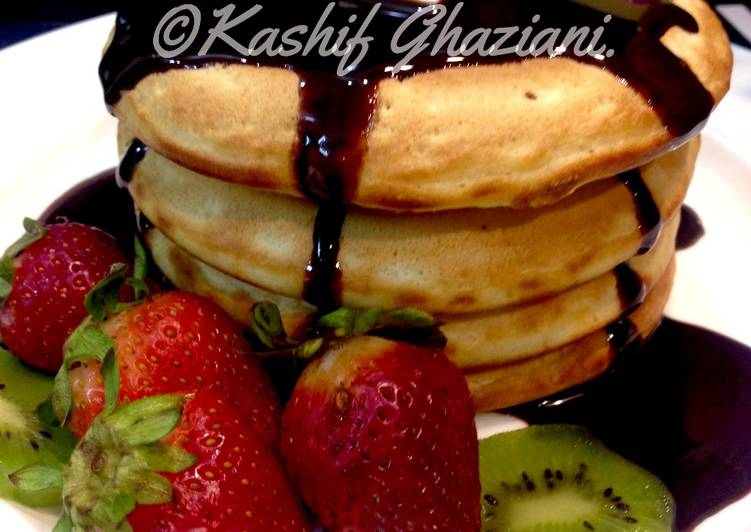 Recipe of Speedy Fluffy Pancakes #EidKiMeethas