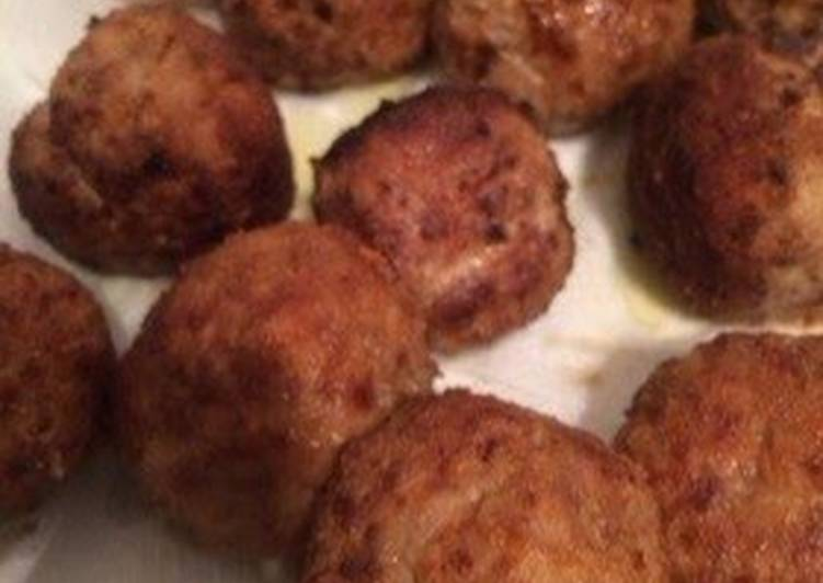 Easiest Way to Prepare Perfect Italian Meatballs (Polpetta)