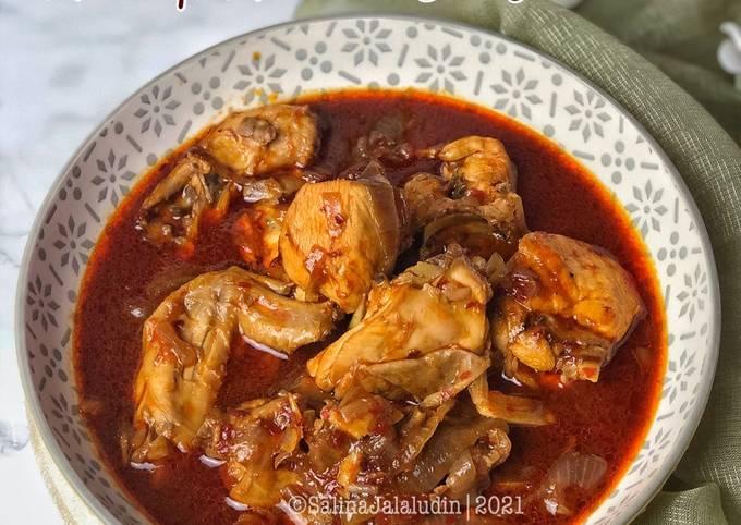 Bagaimana Menyiapkan Ayam Masak Merah Bunda, Bisa Manjain Lidah