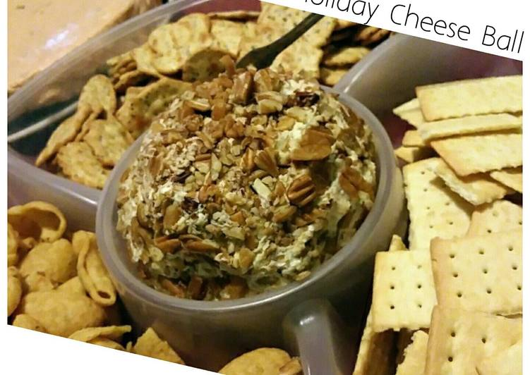 Mom's 70's Holiday Cheese Ball