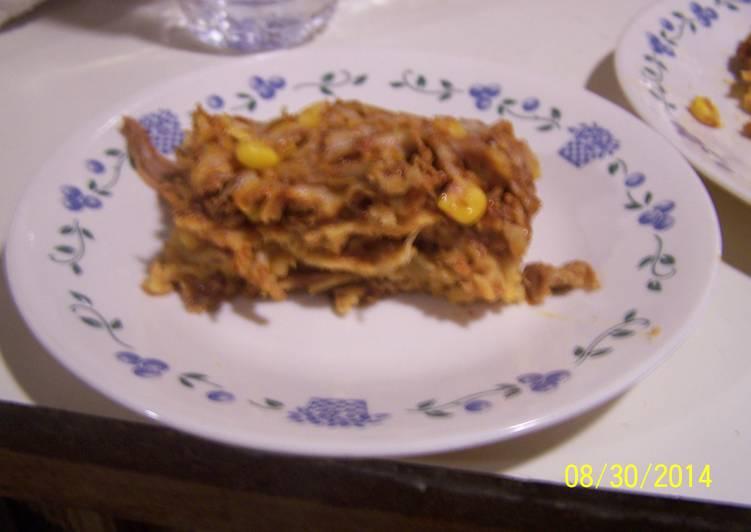 How to Prepare Speedy Enchilada Casserole