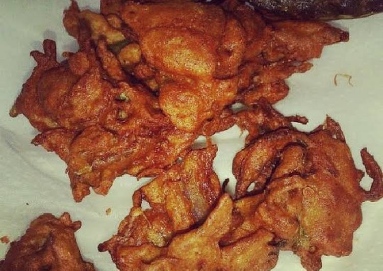 Try Using Food to Elevate Your Mood Fritters (Pakorey)