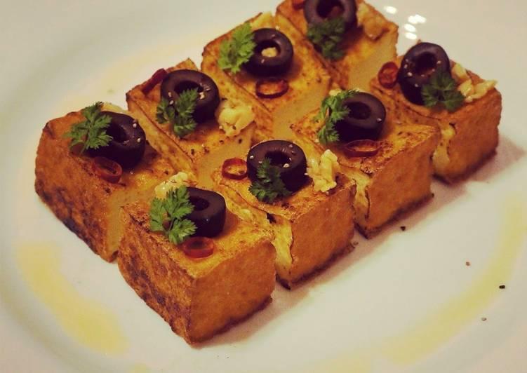 Steps to Prepare Favorite Easy and Quick Dish! Tofu Peperoncino