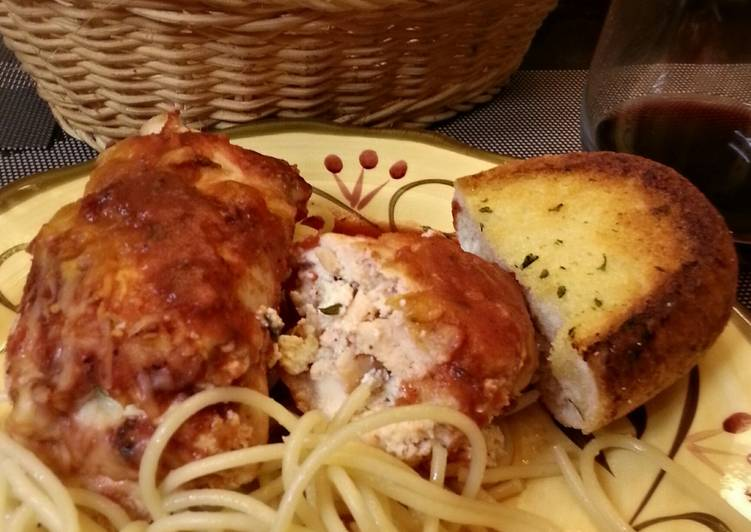 Ricotta Stuffed Chicken Breasts