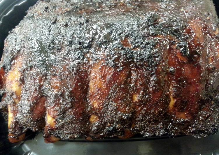 Recipe: Delicious Root Beer Glazed Ribs