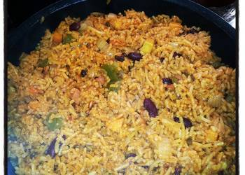 Easiest Way to Cook Appetizing Moms Special Jollof rice