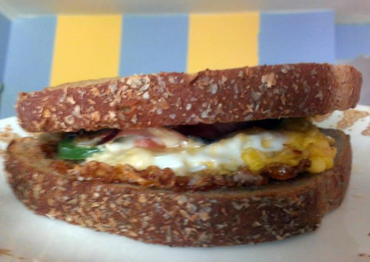 Recipe: Tasty One Mean Egg Sandwich